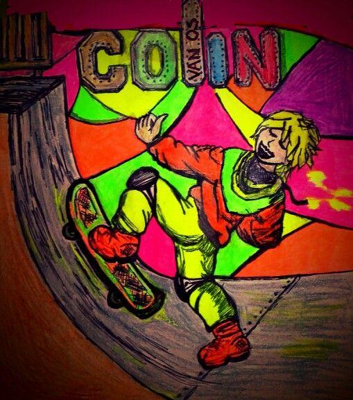 Skateboardfan Colin X