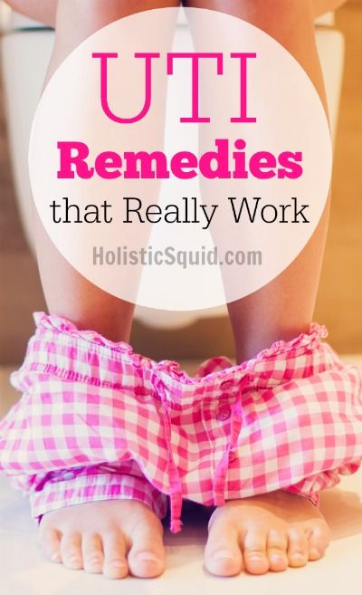 UTI Remedies that Really Work - Holistic Squid