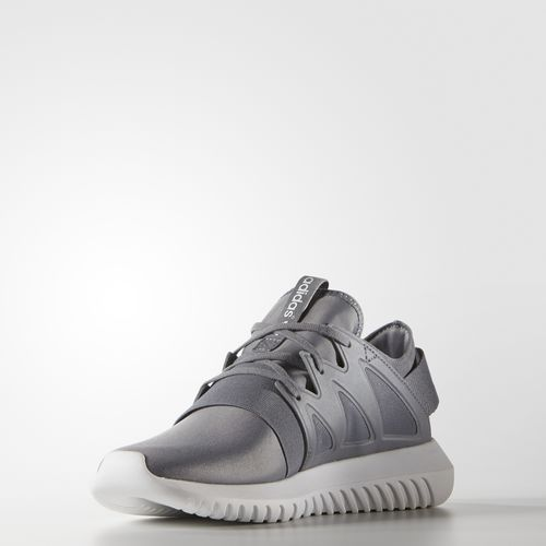 adidas Originals Tubular Viral leather trimmed textured knit sneakers