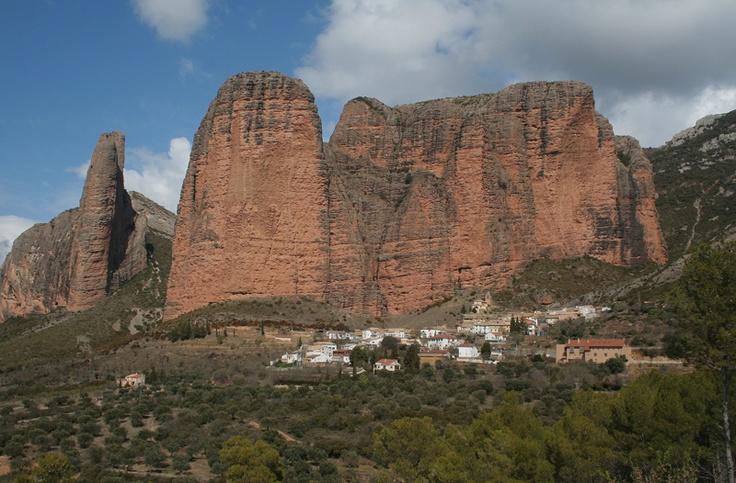 Mallos de Riglos. Huesca. Aragón.