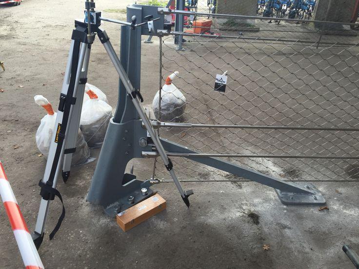 Prototype des barrières câble du Parking de la gare de Bordeaux Saint Jean #MaP3 #AREP #Vinci