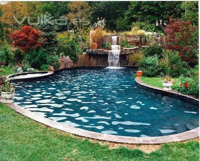 47 best Pool Fountains images on Pinterest Pool fountain, Pools - schwimmingpool fur den garten