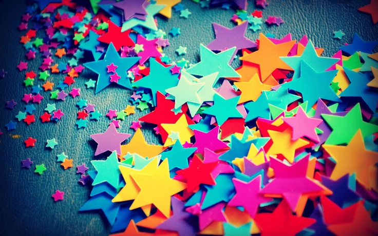 Colored Stars Hd Widescreen Wallpapers 1920x1200