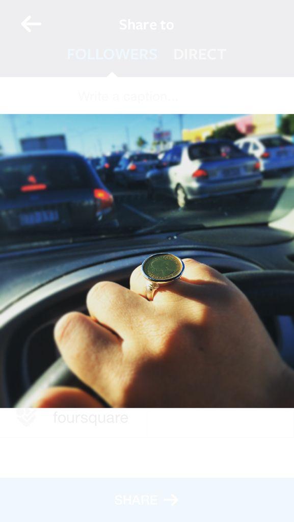Von Treskow coin ring