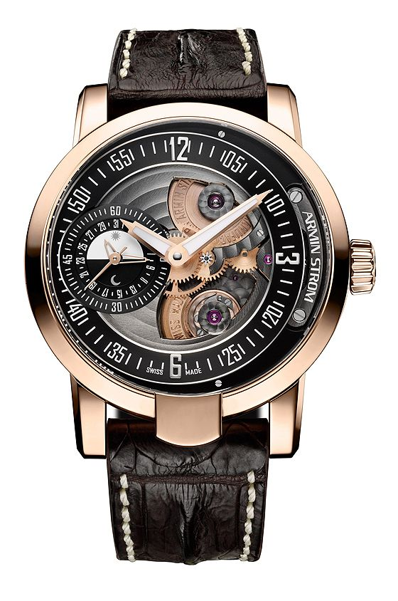 Showing at WatchTime IBG 2014: Armin Strom Gravity Date Fire