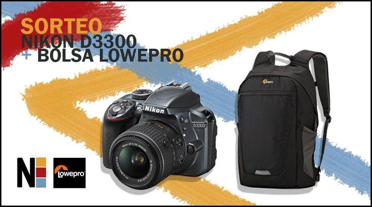 Sorteo de una cámara Nikon D3300 + Bolsa Lowepro de Lowepro España y Comunidad Nikonistas #sorteo #concurso http://sorteosconcursos.es/2016/05/sorteo-de-una-camara-nikon-d3300-bolsa-lowepro/