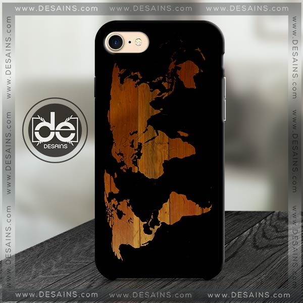 Buy Phone Cases Unique Wood World Map Iphone Case Samsung galaxy case