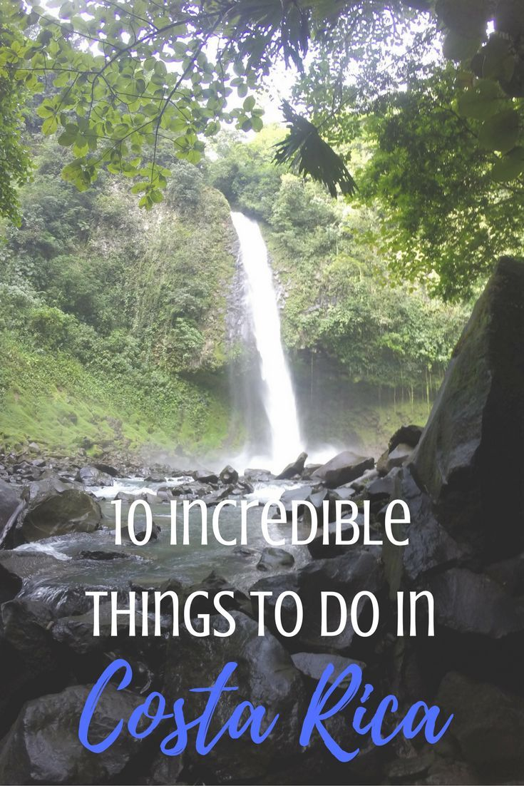 Are you headed to the Central American country of Costa Rica? Here are 10 incredible things to do in Costa Rica!