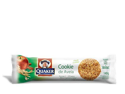 Cookies de Aveia QUAKER® sabor Maçã e Canela – 140g | Quaker