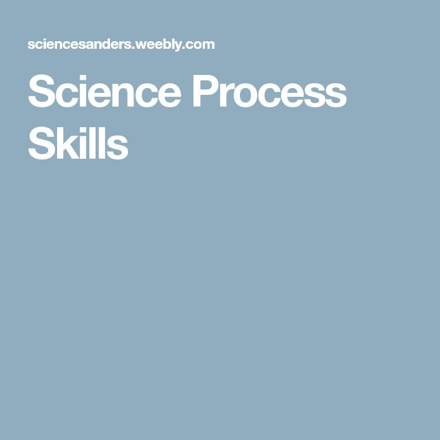 Best 25+ Science process skills ideas on Pinterest - skills & abilities for resume