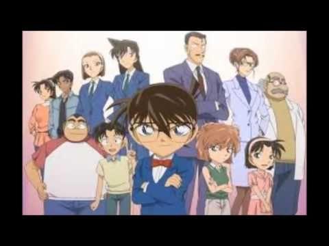 Detektiv Conan opening 1-8 german - YouTube