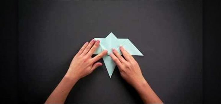 INSANELY SIMPLE --- How to Fold a simple origami hummingbird