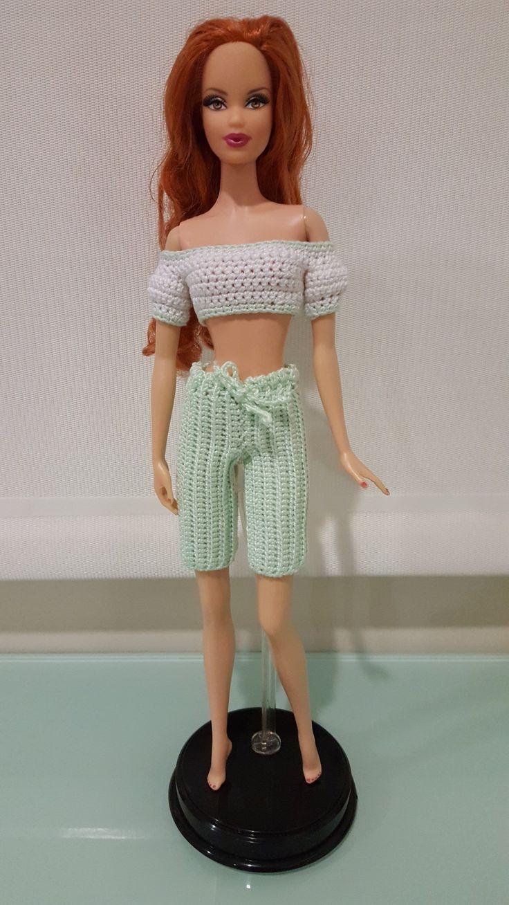 79 best Barbie images on Pinterest | Häkelpuppen, Barbiekleidung und ...