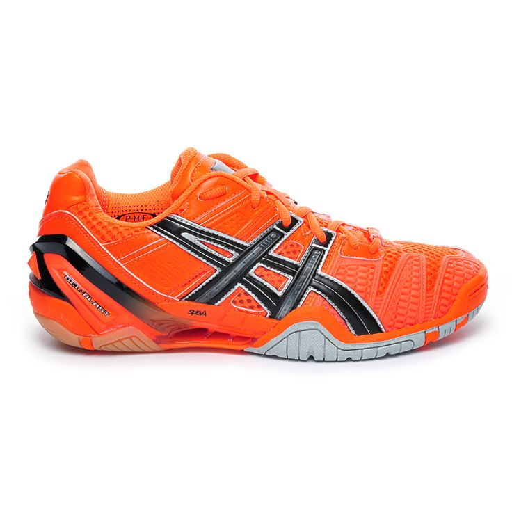 Chaussures Handball Asics Gel Blast 4 Homme Orange