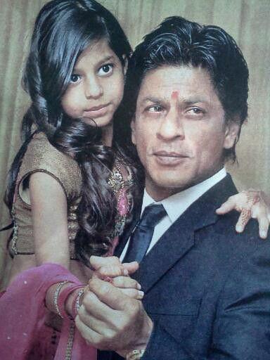 Shahrukh and his daughter Suhana | Shahrukh Khan | Pinterest