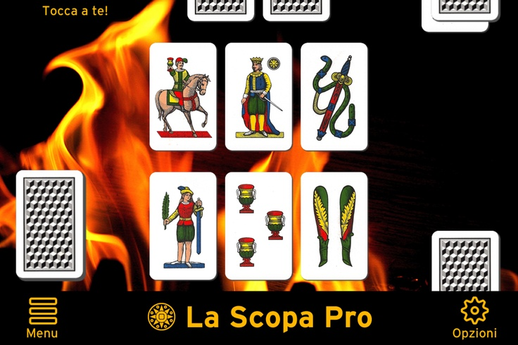 LA #SCOPA PRO: CHOOSE AMONG 12 TYPES OF DECKS OF CARDS REPRODUCED IN HIGH RESOLUTION! PLAY FOR FREE THE BEST ITALIAN CARD GAME BY APPSMOB: http://itunes.apple.com/us/app/la-scopa-pro/id501678276?mt=8