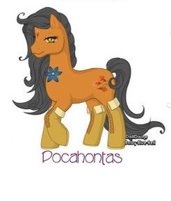 My Little Pony: Pocahontas by Morgwaine