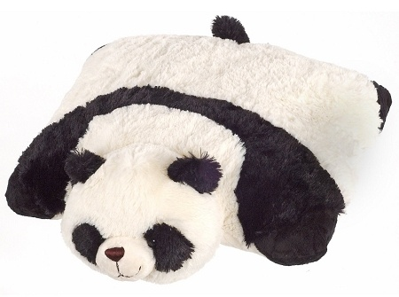 Panda Pillow Pet :) Adorable.