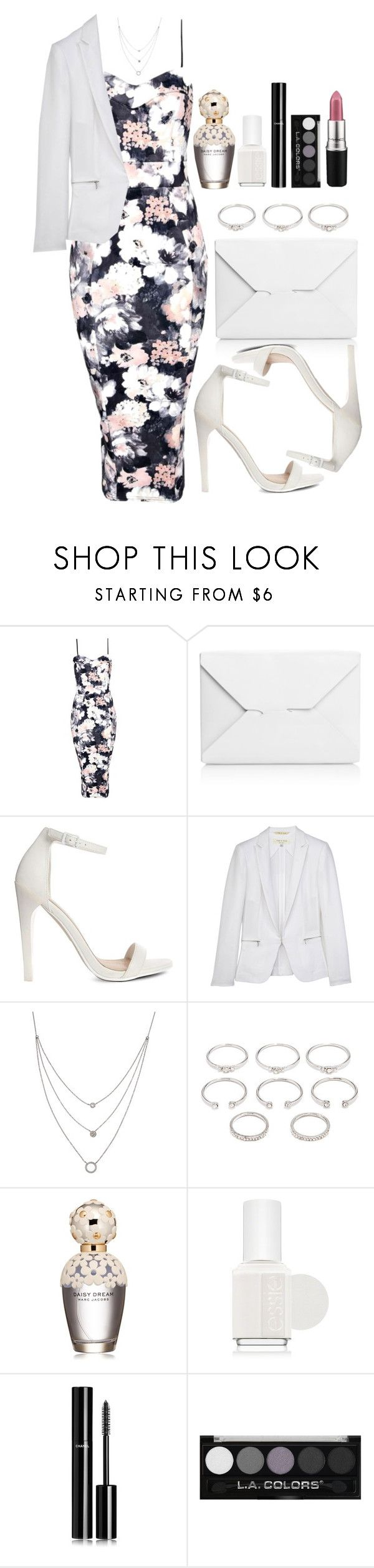 """""""Untitled #3469"""" by natalyasidunova ❤ liked on Polyvore featuring Boohoo, J.W. Anderson, ASOS, rag & bone, Athra Luxe, Forever 21, Marc Jacobs, Essie, Chanel and MAC Cosmetics"""