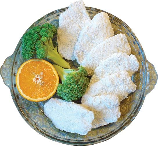High quality breaded Alaska Pollock meat from Dalian Yihe Food Co., Ltd.