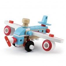 Avion - set de construit din lemn