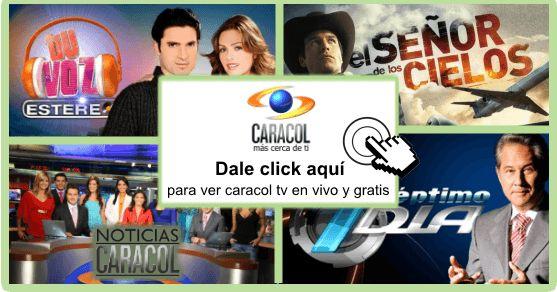 Dale click al logo  para ver el canal  caracol tv en vivo , si no funciona dale click a alguna de las siguientes opcio...