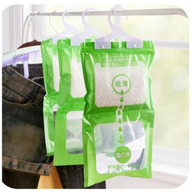 Hanging Drying Clothes Moisture Mold Desiccant Dehumidification Home Wardrobe Moisture Absorption Dehumidifier Dry Bag IC881915