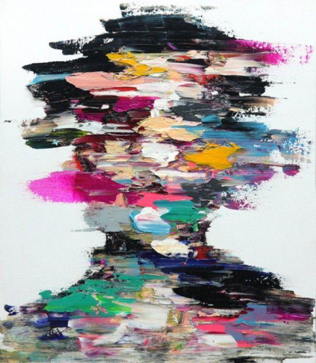 L'artiste coréen Shin KwangHo réalise des peintures au fusain et à la peinture à l'huile. / pinned on Toby Designs