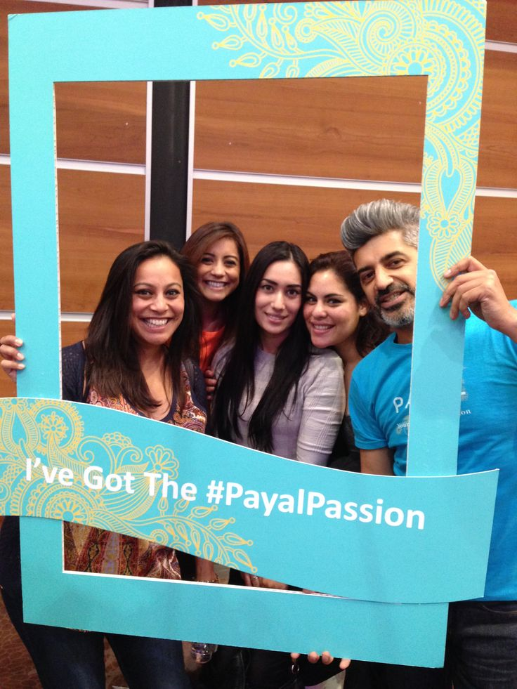 Big Smiles in our Payal Passion photo frame
