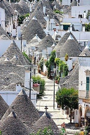 Alberobello ! Province of Bari , Puglia region