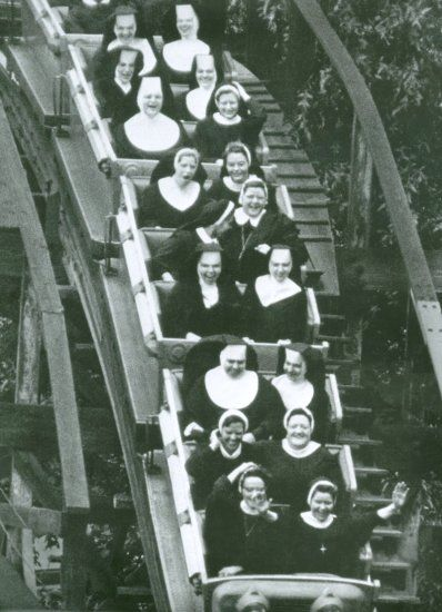 Nuns having fun! @Amanda Gesiorski