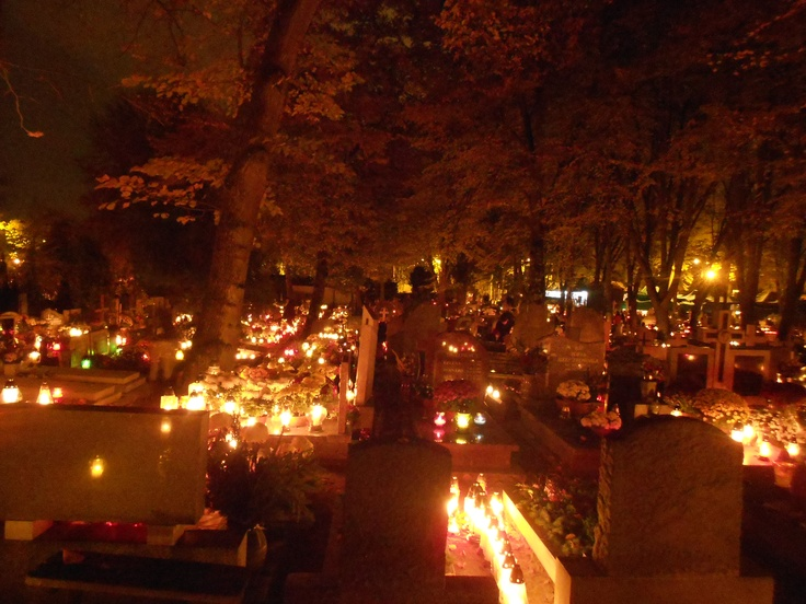 All Saints Day in Poland