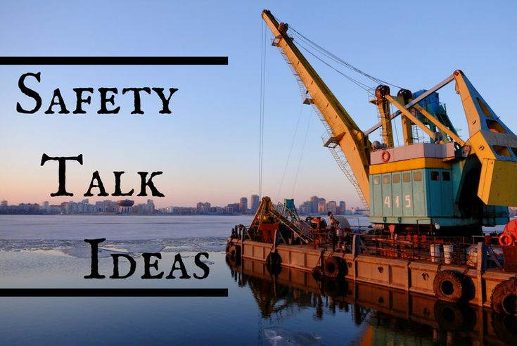 200 free safety talks on a variety of topics for your next safety meeting or toolbox talk! Fresh ideas for tailgate meetings or safety moments at work.