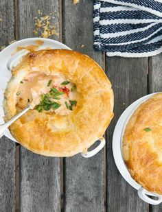 Indulge this Fourth of July with our favorite lobster pot-pie. We promise everyone will love it!
