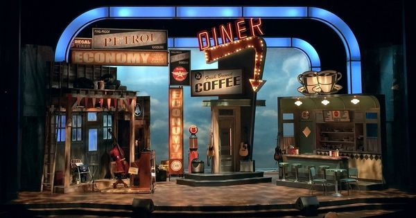 Pump Boys and Dinett - Pump Boys and Dinettes. Paper Mill Playhouse. Scenic…