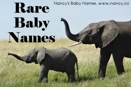 Want to see a list of rare baby names? Here's a long one, recently updated with the 2014 data! #babynames