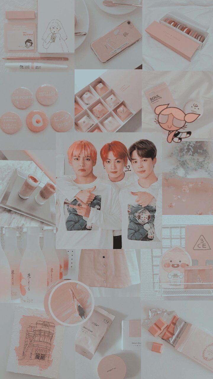 Credits To The Owner Bts Jimin Taehyung Jungkook Aesthetic Wallpaper Lockscreen Wallpaper Ponsel Bts Gambar