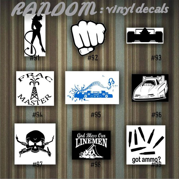 Best VINYL DECALS Random Designs Images On Pinterest Car - Funny decal stickers for carsbest funny car decales images on pinterest funny cars