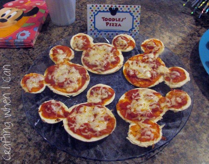Mickey Minnie Party Food Ideas