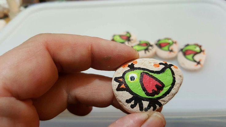 Little birdies by Jessica Holmstrom Clark