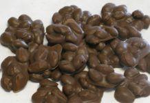 Βραχάκια με αμύγδαλα και σοκολάτα(1 μονάδα)