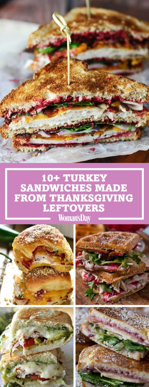 Fuel up on Black Friday with these sandwiches made entirely from Turkey Day leftovers! Be creative with your Thanksgiving leftovers by making the ultimate leftover turkey club. Add a waffle and enjoy a waffled cranberry cream cheese turkey sandwich!