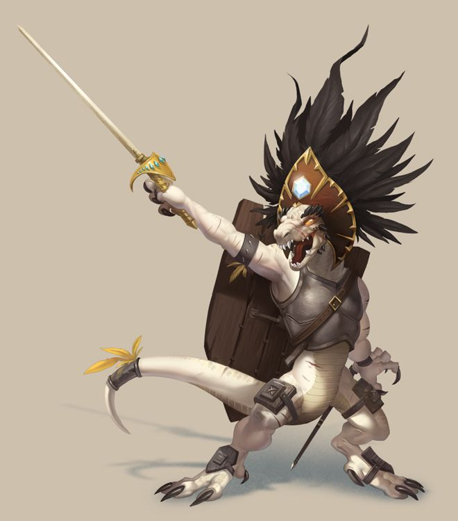 Kobold Chieftain - Pathfinder by damie-m.deviantart.com on @DeviantArt