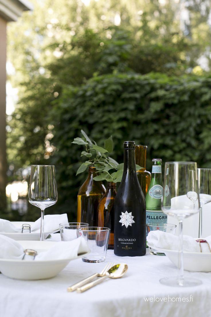 shampagne cork holder as napkin rings