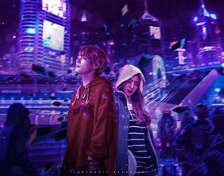 Chromaspace • Vrene p/s ahehehehe hope you like this guys!!! another fanart~~~ edit. lololol #vrene #irene #taehyung #taerene #joohyun #v #bts #redvelvet #btsvelvet #bangtanvelvet #edit #springday #bellatrixia