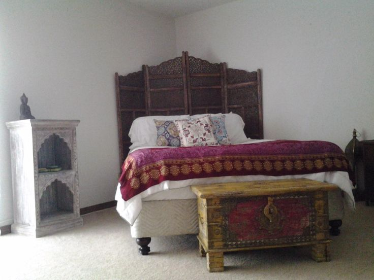 Amazon.com   Deco 79 Villa Este Wood Room Divider 4 Panel Carved Screen
