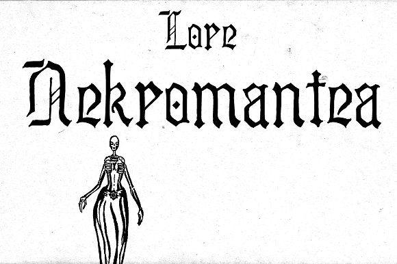 Lore Nekromantea by dawnland on @creativemarket