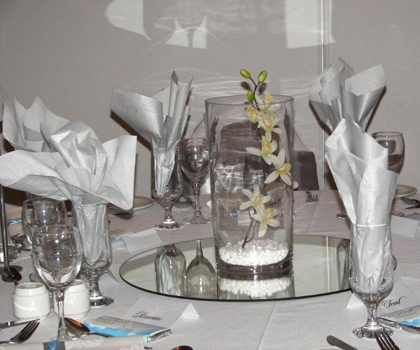 Glasses For Table Wedding Decorations Table Decorations For Wedding