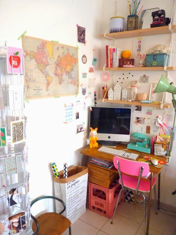 cute work corner