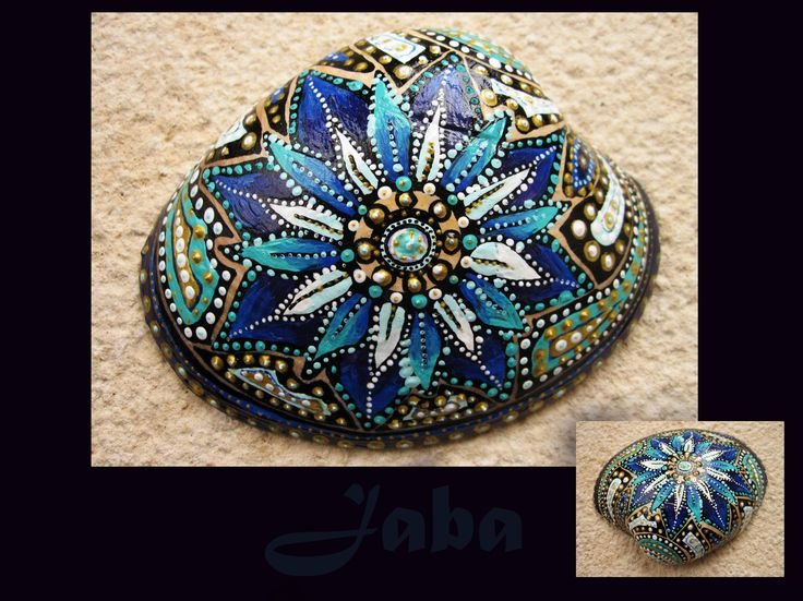 Handpainted ocean shell by Jaba (SOLD) Check out my etsy shop to see which ones…